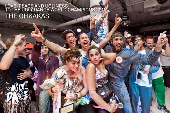 3rd Ugly Dance World Champions - The Ohkakas